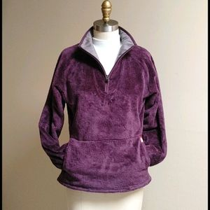 Vintage The North Face Purple Pullover Fleece